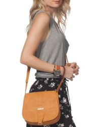 Rip Curl - Paradise Faux Leather Saddle Bag - Lyst