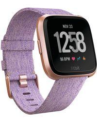 Fitbit - Versa Special Edition Smartwatch - Lyst
