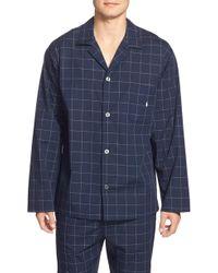 Polo Ralph Lauren - Woven Pajama Top - Lyst