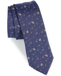 Paul Smith - Floral Bee Silk Tie - Lyst