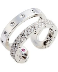 Roberto Coin - Symphony Double Pois Moi Diamond Ring - Lyst