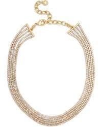 BaubleBar - Josephine Crystal Statement Necklace - Lyst