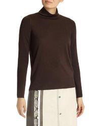 Lafayette 148 New York - Merino Wool Modern Turtleneck Sweater - Lyst