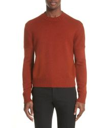 CALVIN KLEIN 205W39NYC - Cashmere Sweater - Lyst