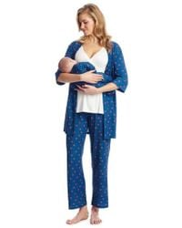 Everly Grey - Roxanne - During & After 5-piece Maternity Sleepwear Set - Lyst