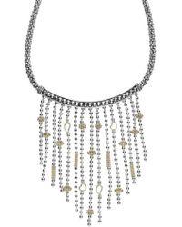 Lagos | 'caviar Icon' Rope Bib Necklace | Lyst