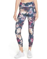 Sweaty Betty - Zero Gravity Print Ankle Leggings - Lyst