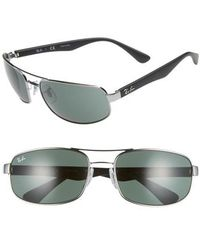 Ray-Ban - 61mm Square Sunglasses - Lyst