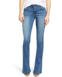 Wit & Wisdom | Ab-solution Itty Bitty Bootcut Jeans | Lyst