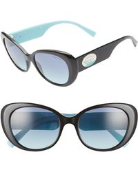 c2894c4f9e6e Tiffany   Co. - Return To Tiffany 54mm Oval Sunglasses - Lyst