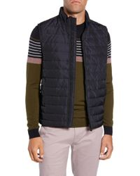 Ted Baker - Yarg Slim Fit Quilted Vest - Lyst