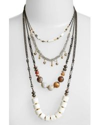 Nakamol - Multistrand Necklace - Lyst