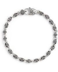 Konstantino | Silver Classics Link Bracelet | Lyst