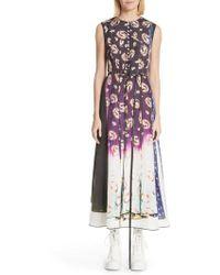Marc Jacobs - Floral Degrade Photo Print Dress - Lyst