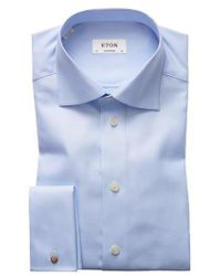 Eton of Sweden | Contemporary Fit Solid Dress Shirt | Lyst