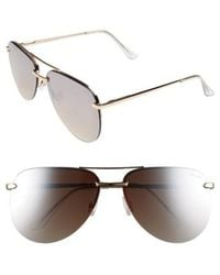 Quay - The Playa 64mm Aviator Sunglasses - - Lyst
