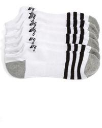 Adidas Originals | Original Roller 3-pack No-show Socks, White | Lyst