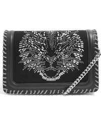 TOPSHOP - Tiger Stud Shoulder Handbag - - Lyst