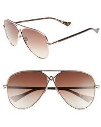Altuzarra - 60mm Metal Aviator Sunglasses - - Lyst