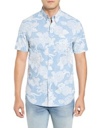 dadaef34 Lyst - Reyn Spooner Aloha Bandana Regular Fit Sport Shirt for Men