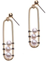 Nakamol - Freshwater Pearl Earrings - Lyst