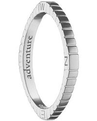 Monica Rich Kosann - Adventure Compass Poesy Ring Charm - Lyst