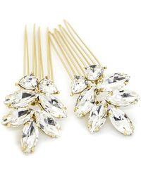 Brides & Hairpins - Bendetta Set Of 2 Combs - Lyst