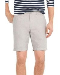 J.Crew | J.crew Stretch Chambray Shorts | Lyst