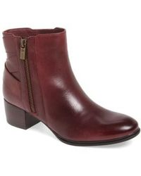 Isola - Delta Leather Ankle Boots - Lyst