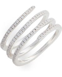 Nordstrom - Pave Coil Ring - Lyst