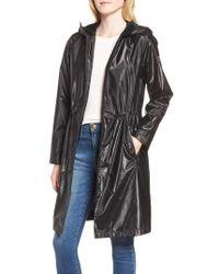 Bernardo - Metallic Rain Jacket - Lyst
