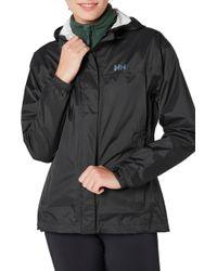 Helly Hansen - Loke Packable Jacket, Black - Lyst