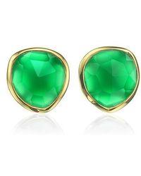 Monica Vinader | 'siren' Semiprecious Stone Stud Earrings (nordstrom Exclusive) | Lyst