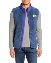 The North Face - Campshire Fleece Vest - Lyst