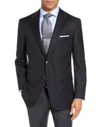 Hickey Freeman - Lindsey Classic Fit Wool Travel Blazer - Lyst