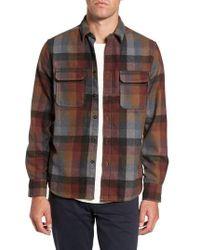 Jeremiah - Heath Brushed Flannel Shirt - Lyst
