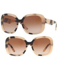 Burberry - 56mm Gradient Sunglasses - Lyst