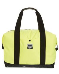 Obey - Drop Out Duffel Bag - Lyst