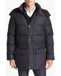 Vince Camuto | 680-down Fill Quilted Hooded Parka | Lyst