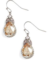 Sorrelli - Decorative Deco Crystal Drop Earrings - Lyst