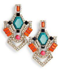 Adia Kibur | Crystal & Stone Earrings | Lyst