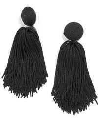 BaubleBar - Tassel Earrings - Lyst