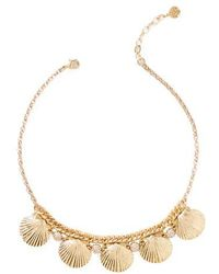 Lilly Pulitzer | Lilly Pulitzer Sea Fan Necklace | Lyst