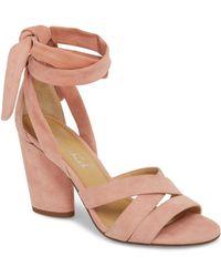 Splendid - Fergie Lace-up Sandal - Lyst