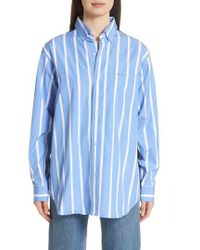 Vetements - Front To Back Cotton Shirt - Lyst