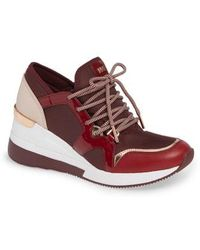 MICHAEL Michael Kors - Scout Trainer Wedge Sneaker - Lyst