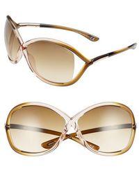 1bcdc8635b7 Tom Ford -  whitney  64mm Open Side Sunglasses - - Lyst