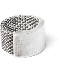 Title Of Work - Macro Mesh Ring - Lyst