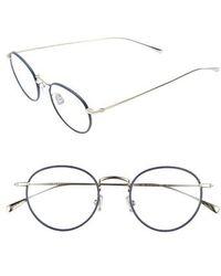 lyst italia independent velvet cat eye sunglasses navy in blue Ray Ban Women's Sunglasses derek lam 50mm optical glasses navy lyst