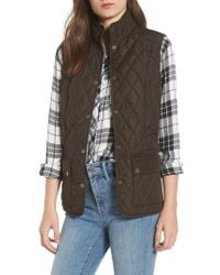 Barbour - 'saddleworth' Quilted Vest - Lyst